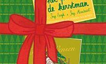 het pak van de kerstman liggend beeld
