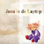 Jona in de laptop