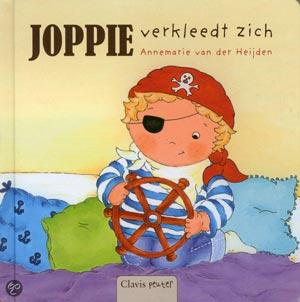 Voorkant van het boek Joppie verkleedt zich.