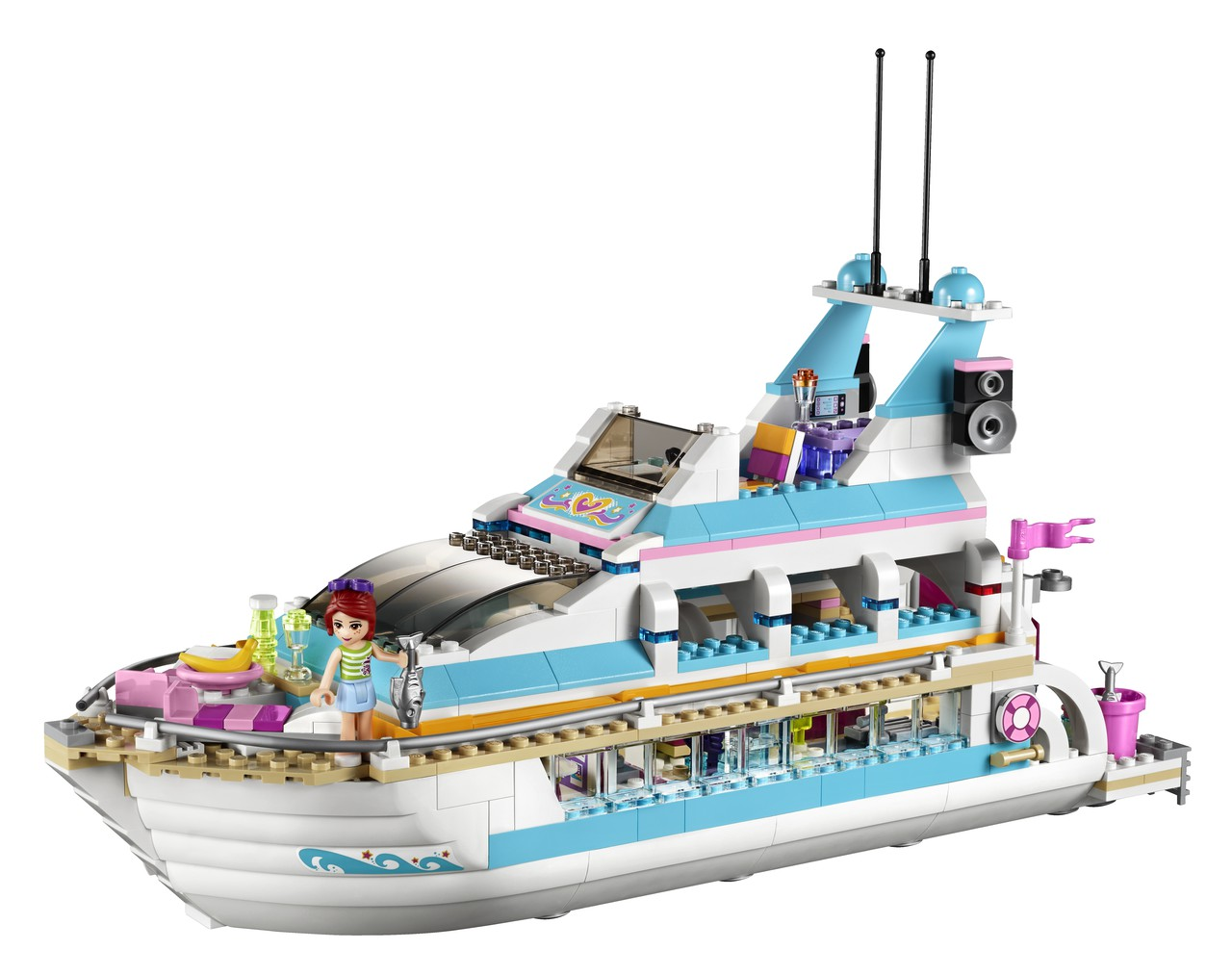lego friends 41015 dolfijn cruiser trotsemoeders magazine voor moeders door moeders. Black Bedroom Furniture Sets. Home Design Ideas