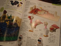 Lego Boek voorbeeld Kippenfarm