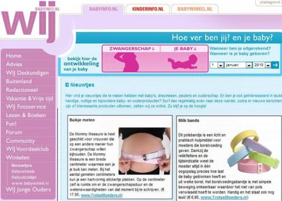 milk-bands-en-mommy-measure-in-babyinfo.nl