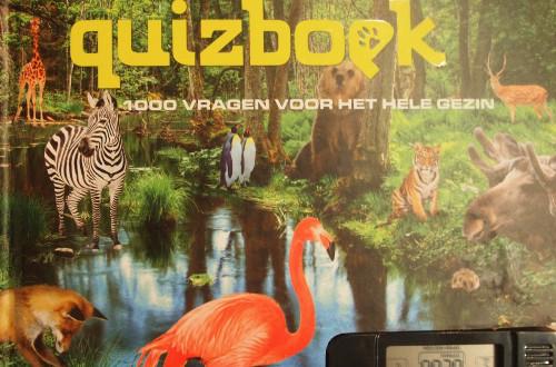 natuur quizboek met 1000 vragen en elektronisch scoreboek