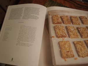 Het Nederlandse bakboek: recept Jan Hagel koekjes