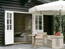 outdoor lodges huisje