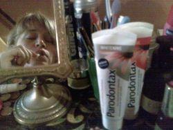 Paradontax tanden poetsen