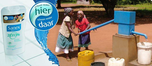 sanex schoon water