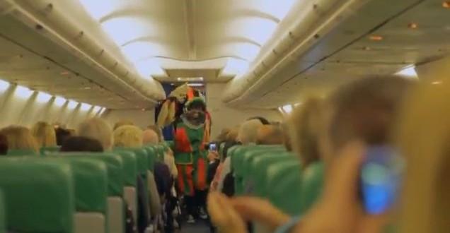 Eten meenemen in vliegtuig transavia