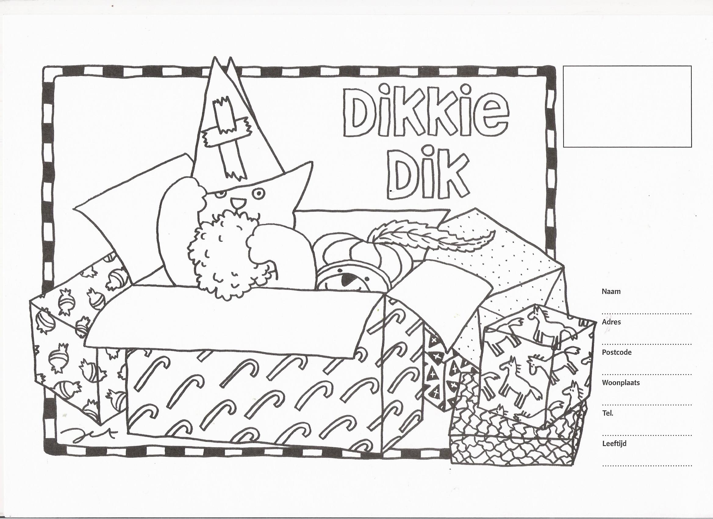Kleurplaten Sint Mandala.Mooi Kleurplaat Sinterklaas Woezel En Pip Klupaats Website