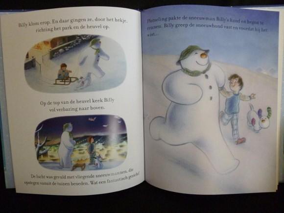 sneeuwman en de sneeuwhond