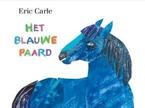 uitgelicht beeld blauwe paard